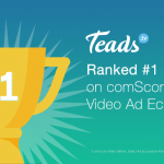 Teads continues to top comScore's Video Ad Ecosystem