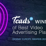 Teads win Best Video Advertising Platform